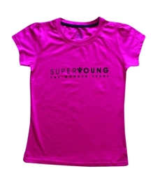 Super Young - Girls Short Sleeves Crew T Shirt