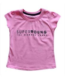 Super Young - Girls Short Sleeves Crew Neck T Shirt