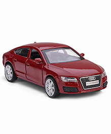 Innovador Die Cast Pull Back Action Audi A7 Toy Car - Maroon