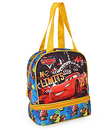 Disney Pixar Cars Lunch Box Bag Yellow & Blue - Height