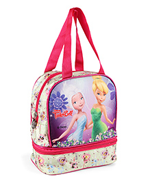 Disney Tinkerbell Lunch Box Bag Pink - Height 9.64 Inches