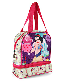 Disney Princess Snow White Lunch Box Bag Pink - Height 9.64 Inches