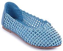 Cute Walk - Net Pattern Belly Shoes