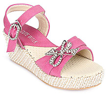 Cute Walk - Party Wear Sandal With Bow