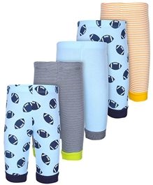 Carters - Set Of 5 Multi Color Leggings