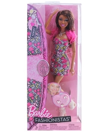 Barbie Fashionistas Doll Printed 28 Cm 3 Years +, Ideal Gift For Your Little Girl