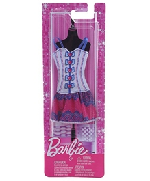 Barbie Multi Color Trendy Outfits