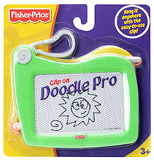 Fisher Price Doodle Pro Clip On Drawing Board - Green