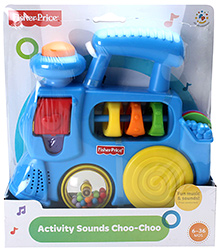 Fisher Price Activity Sound Choo - Choo Train