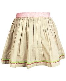 Shopper Tree - Short Cotton Skirt