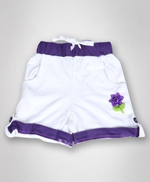 Baby Hug - Short With Flower Applique