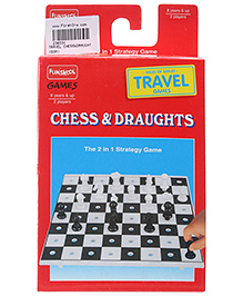 Funskool - Travel Chess And Draught DOM