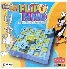 Looney Tunes - Flip And Find Board Game