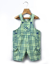 Beebay - Checked Dungaree