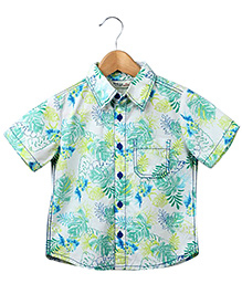 Beebay - Printed Half Sleeves Shirt
