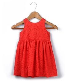 Beebay - Singlet Red Net Dress