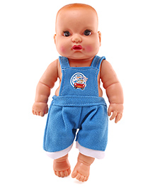 Speedage Baby Doll Blue - Height 21 Cm (Print May Vary)