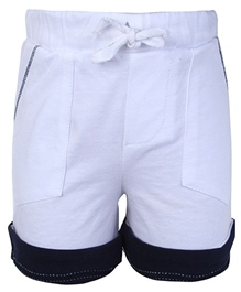 Baby Hug - Casual Shorts With Coloured Hem