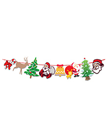 Party Propz Christmas Bunting - Multicolour