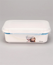 Servewell Disney Frozen Lunch Box  - White Blue