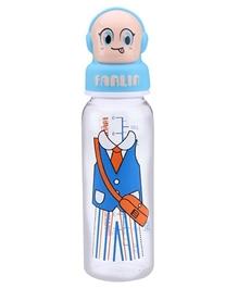 Farlin Sense Developing Feeding Bottle Blue 250 ml
