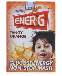 Nirlife Ener G Tangy Orange - 100 gm