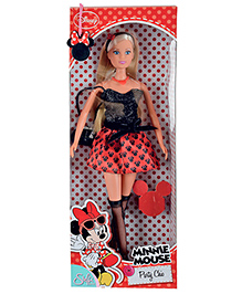Steffi Love Minnie Mouse Chic Party 3 years +, A cute fashionable doll