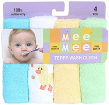 Mee Mee - Set of 4 Baby Napkin