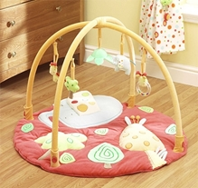 Lollipop Lane Tiddly Wink Safari Play Mat