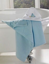 Lollipop Lane Blue Whale Cosy Robe