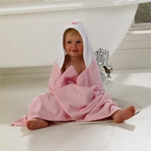 Lollipop Lane Pink Bird Cosy Robe6 Months+, 126 x 100 cm, Soft to touch and gentle on your child's delicate skin