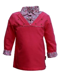 Gron - Full Sleeves Collared Top