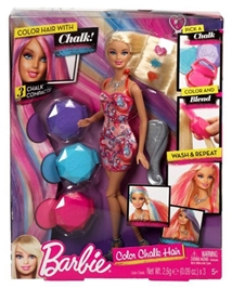 Barbie with Colour Chalk 29 cm 5 Years+, Representative of real life trends and style, the Barbie Chalk...
