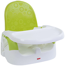 Fisher Price Quick Clean Portable Booster Seat - Green