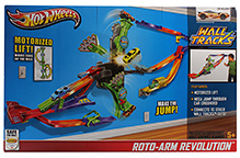 Hot Wheels Wall Tracks Roto Arm Revolution Track Set