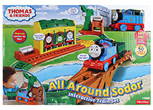 Fisher Price - All Around Sodor Interactive Train Set