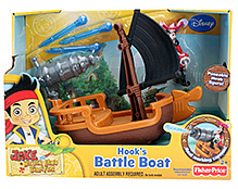 Disney Jake and The Never Land Pirates Hooks Battle Boat