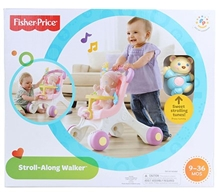 Fisher Price Brilliant Basics Stroll Along Walker - White