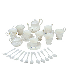 Fab N Funky - Deluxe Tea Play Set White