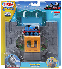 Thomas & Friends - Die Cast Metal Thomas Portable Toy Set Yellow