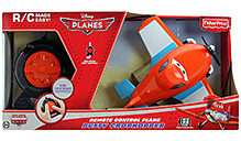 Disney Planes Remote Controlled Dusty Crophopper Plane
