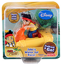 Disney Jake And The Never Land Pirates Water Jet Racer - Jake