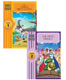 Macaw - Pack Of 2 The Three Billy Goats And The Frog Prince Book
