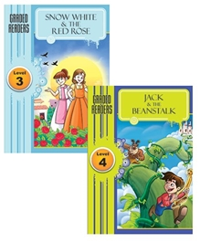 Macaw - Pack Of 2 Books Snow White And Rose Red And Jack And The Beanstalk