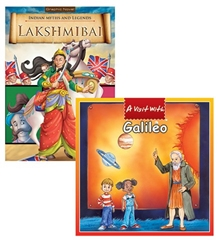 Macaw Pack Of 2 - A Day With Scientists Galileo - Lakshmi Bai