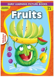 Macaw - Pre-Nursery Fruits With Sticker Inside