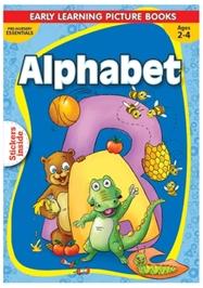 Macaw - Pre Nursery Alphabet With Sticker Inside