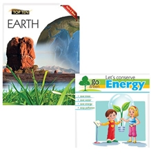 Macaw - Combo Of Lets Conserve Energy And Facts And More Earth Books