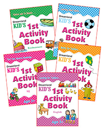 Dreamland - Kid's Activity With Pack Of 5 Titles