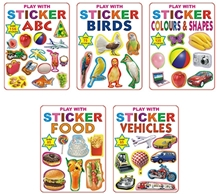 DReamland - Play With Sticker With Pack Of 5 Titles